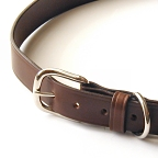 No.1 Dark Brown Colonel Belt w/ Growing Room by Colonel Littleton