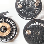 Super 10 Fly Reel w/ Super 10 Spool & BG No.4 Spare Spool by Abel