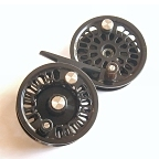 Super 4 Fly Reel w/ Super 4 Spool & BG No.1 Spare Spool by Abel