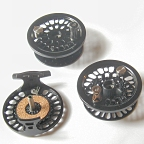 Super 5 Fly Reel w/ Super 5 Spool & BG No.2 Spare Spool by Abel