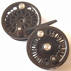 Super 6 Fly Reel w/ Super 6 Spool & BG No.3N Spare Spool by Abel