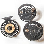 Super 8 Fly Reel w/ Super 8 Spool & BG No.3 Spare Spool by Abel