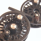 Super 9 Fly Reel w/ Super 9 Spool & BG No.4N Spare Spool by Abel