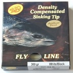 300 Grain Density Compensated (DC) 24ft Tapered Sinking Tip Fly Line by RIO