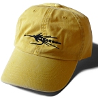 Yellow Black Fly Series Cap by Vaughn Cochran