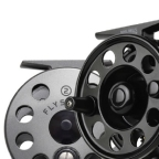 Flystart 1 Large Arbor 3/5 Fly Reel by Ross Worldwide
