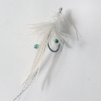 White Grass Shrimp Fly #2 by East Cut Flies