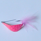 Scotts Pink Spoon Fly #4 by East Cut Saltwater Flies