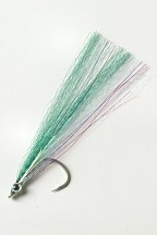 Green Bait Fish 1/0 Saltwater Fly by East Cut Saltwater Flies