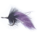 Black Tarpon Fly 2/0 by East Cut Saltwater Flies