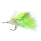 Chartreuse Tarpon Fly 2/0 by East Cut Saltwater Flies