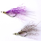 Firecracker - 2 Fly Sampler - Saltwater Flies by DL Goddard