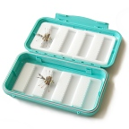 Permit 8-Row Micro-Slit Foam Waterproof Saltwater Fly Box by C&F Design