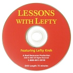 Lessons with Lefty DVD featuring Lefty Kreh