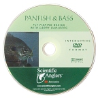 Fly Fishing for Panfish and Bass DVD with Larry Dahlberg