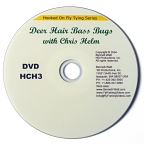 Hooked on Fly Tying: Deer Hair Bass Bugs DVD with Chris Helm