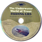 "The Underwater World of Trout: Feeding Lies DVD w/ Wendell ""Ozzie"" Ozefovich"