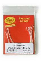 Braided Loops - 4 Pack Regular - by RIO