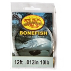 10lb. 12ft. Knotless Bonefish Leader by RIO