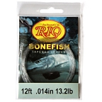 12lb. 12ft. Knotless Bonefish Leader by RIO