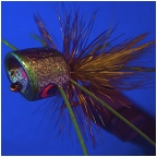 Mossy Green BooglePopper #6 Fly by BoogleBug�