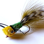 Deer Hair Bass Bug Fly #2 by Pacific Fly Group