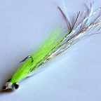 Chartreuse Flashtail Deep Minnow #2 by Pacific Fly Group