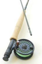 4wt, 8ft, 2pc Signature Series Fly Rod / Sierra Disc Drag Fly Reel - Fun Stick Fly Fishing Combo