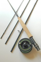 5wt, 8ft-6in, 4pc Pro Fly Rod / Integrity Large Arbor Fly Reel - Fly Fishing Outfit