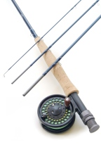 6wt, 9ft, 4pc light TiCr X Fast Action Fly Rod / Sierra Disc Drag Fly Reel - Fly Fishing Combo