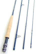 Temple Fork Outfitters Fly Rods TiCr X  6wt, 9ft, 4pc Designed by Lefty Kreh
