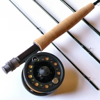 4wt, 7ft-9in, 4pc Lefty Kreh Finesse Fly Rod / Large Arbor Starter Fly Reel - Fly Fishing Combo