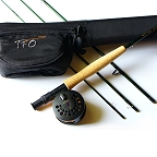 5/6wt, 9ft, 4pc NXT Fly Rod, Reel, Backing, Fly Line, Rod Case Outfit by TFO