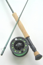 7wt, 9ft, 2pc Signature Series Fly Rod / Large Arbor Starter Fly Reel - Fly Fishing Combo