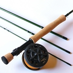4wt, 9ft, 4pc Jim Teeny Fly Rod / Large Arbor Starter Fly Reel - Fly Fishing Combo