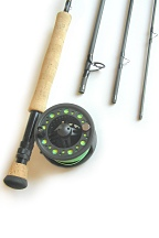 7wt, 9ft, 4pc Pro Fly Rod / Large Arbor Starter Fly Reel - Fly Fish Combo