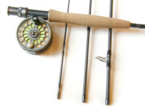 4wt, 9ft, 4pc TiCr Fly Rod / MK I Disc Drag Fly Reel Combo