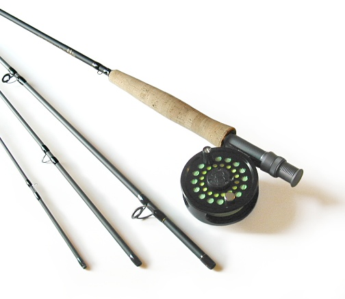 6wt, 9ft, 4pc Pro Fly Rod / Cimarron Fly Reel Combo
